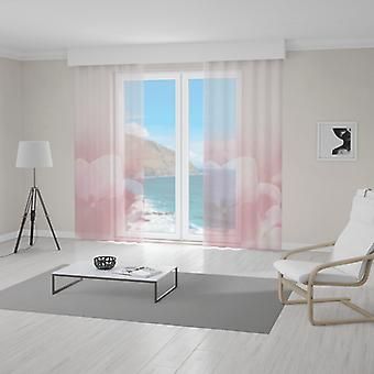 Meesoz Net Curtain - Fiore Rosa