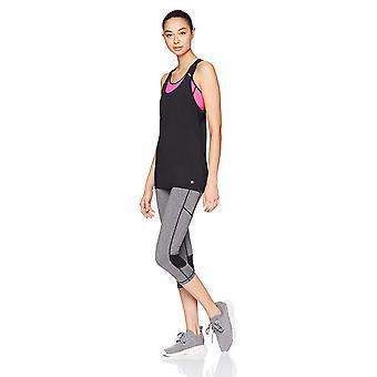 Starter Women's Stretch Performance Tank Top, Exclusif, Noir, Petit