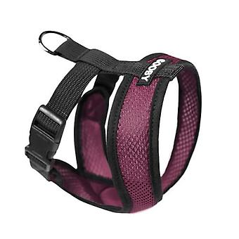Gooby Comfort X arnés para perros Púrpura - Medio