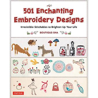 501 Enchanting Embroidery Designs by BoutiqueSha