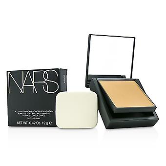 NARS All Day Luminous Powder Foundation SPF25 - Barcelona (Medium 4 Medium with golden peachy undertones) 12g/0.42oz