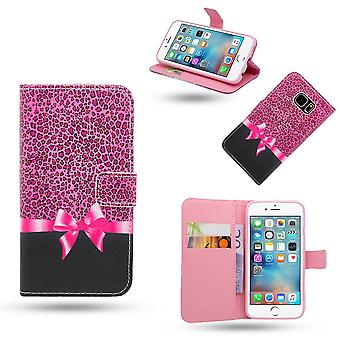 Iphone 5/5s/SE funda/cartera de cuero