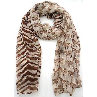 Damer stor trykt High Fashion tørklæde-S132