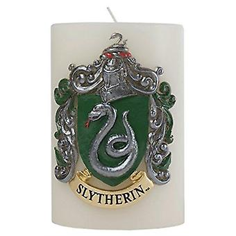 Harry Potter Slytherin Sculpted Insignia Candle by Insight Editions