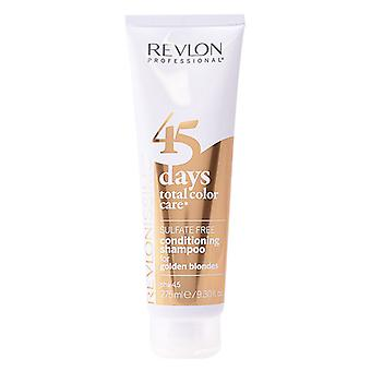 Revlon 45 DAGEN conditionering shampoo voor gouden blondines