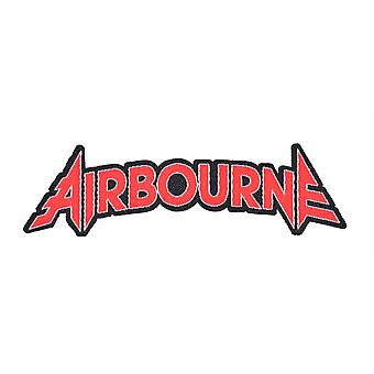 Airbourne Cut Out Logo Woven Patch