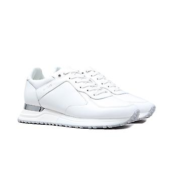 Mallet Lux Runner White Trainers