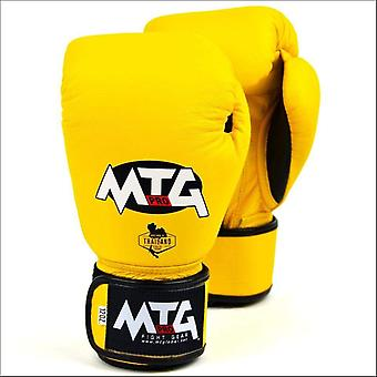 Mtg pro boxing gloves - yellow