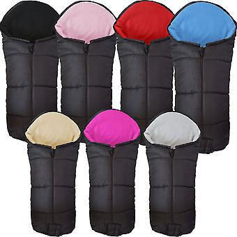 Universal Deluxe Pushchair Footmuff / Cosy Toes - Fits All Pushchairs / Prams And Buggies