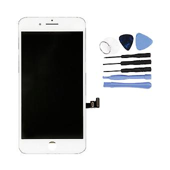 Stuff Certified® iPhone 8 Screen (Touchscreen + LCD + Parts) A + Quality - White + Tools