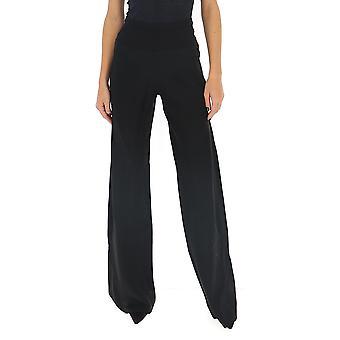 Rick Owens Rp20s1301y09 Women's Black Viscose Pants
