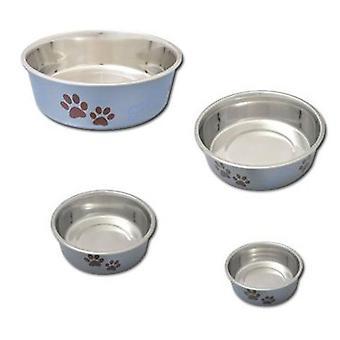 Nayeco rostfritt stål utfodring tråg för hundar Östersjön 1,5 L