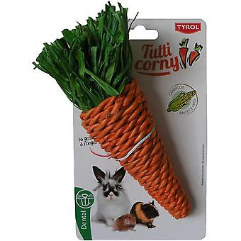 Tyrol Maxi Carrot To Gnaw Tutti Corny (Roedores , Juguetes)