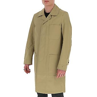 Acne Studios B90258mushroombeige Men-apos;s Beige Nylon Coat