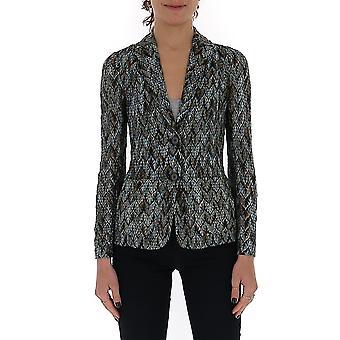 Missoni Mdf00009br007vs70cm Women's Multicolor Viscose Blazer
