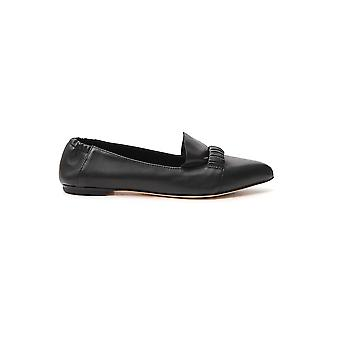 Agl Attilio Giusti Leombruni D538098bcsofty0000 Women's Black Leather Loafers