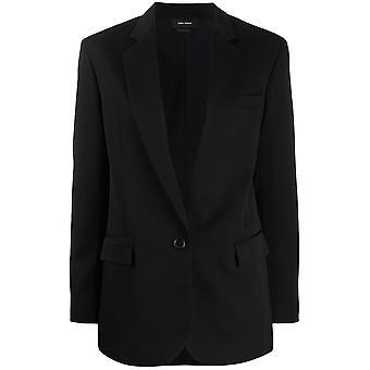 Isabel Marant Ve088720p015i01bk Women's Black Cotton Blazer