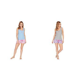 Forever Dreaming dames/dames Frenchicorn Korte pyjama