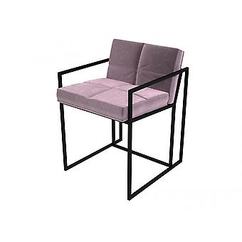 Gillmore Luxe - Upholstered Velvet Dining Chair In Various Colours With Frame Finish Options