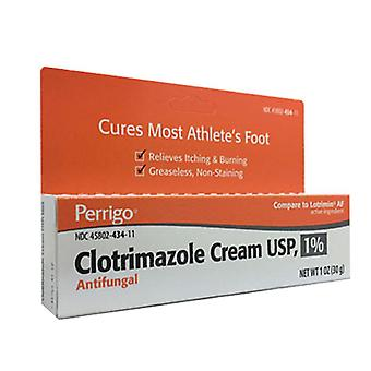 Perrigo clotrimazole cream usp 1% for athlete's foot, 1 oz
