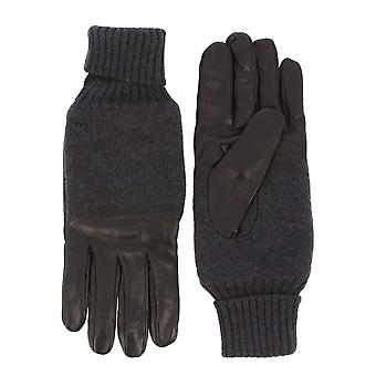 Emporio Armani Original Men Fall/Winter Gloves - Black Color 48697