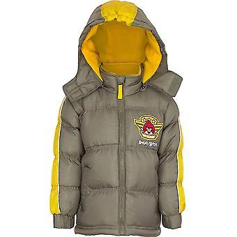 Мальчики разгневанных птиц HO1220 Зимняя куртка с капюшоном