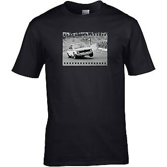 Ford Escort Rally Foto - Auto Motor - DTG Geprint T-shirt