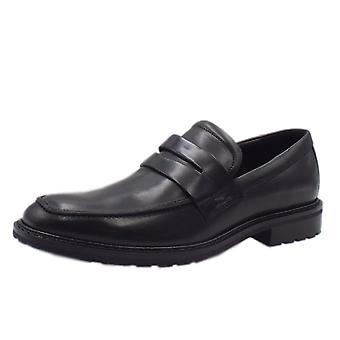 ECCO 640334 Vitrus I Penny Saddle Loafer In Black