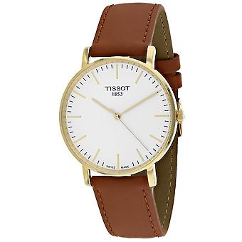 Tissot Men's Everytime White Dial Watch - T1094103603100