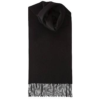 Royal Speyside Lambswool Plain Scarf - Black