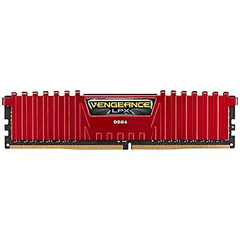 Corsair Vengeance LPX High Performance Desktop Memories, 16 GB (2 X 8 GB), DDR4, 2666 MHz, C16 XMP 2.0, Red