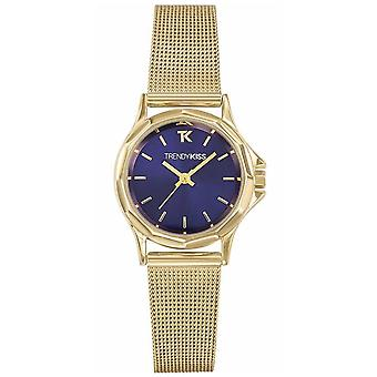 Trendy kiss – lucille Quartz Analog Woman Watch with Stainless Steel Bracelet TMG10084-05