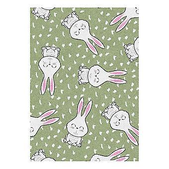 Kids Rug - Rabbit - Washable - 65 x 85 cm