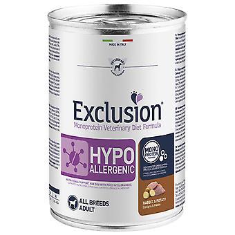 Exclusion Diet Formula Hypoallergenic Conejo y Patata (Dogs , Dog Food , Wet Food)