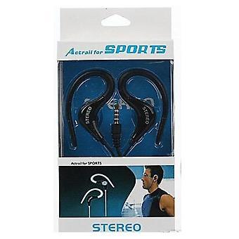 Actrail Stereo Sporthörlurar med Mikrofon Samtalskontroll