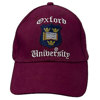 Licensed oxford university™ baseball cap maroon