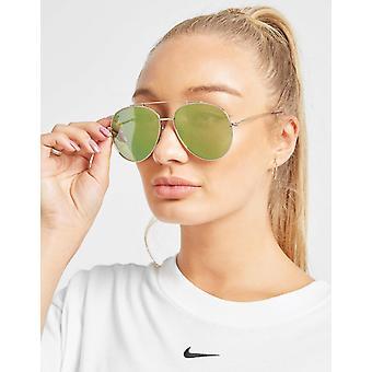 New Brookhaven Women's Ashley Aviator Sunglasses Gold
