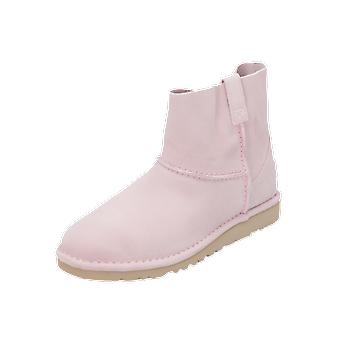 UGG Classic Unlined Women's Boots Pink Lace-Up Boots Winter