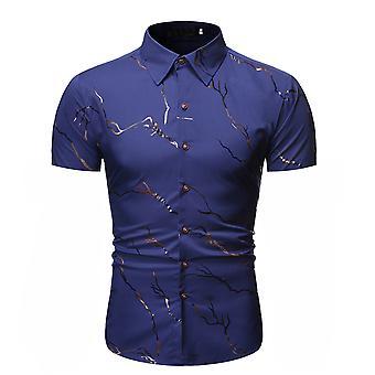 Allthemen Muži & apos, s Letní Bronzing pobočka tištěné tričko s krátkým rukávem