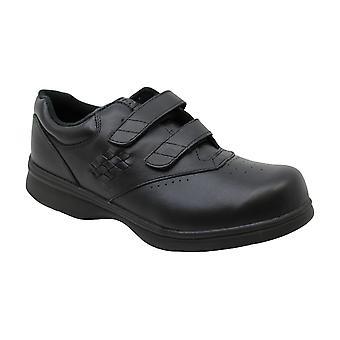 Propet Women's W3915 Vista Walker Sneaker,Black Smooth,11 XX (US Women's 11 E...
