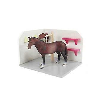 KidsGlobe  (Kids Globe) Kids Globe Horse Wash Box / Stall  1:24 0205