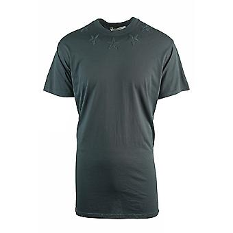 Givenchy Ylisized Star Detail Men's Musta T-paita