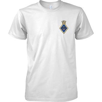 De Voorzitter van het HMS - Royal Navy Shore vestiging T-Shirt kleur