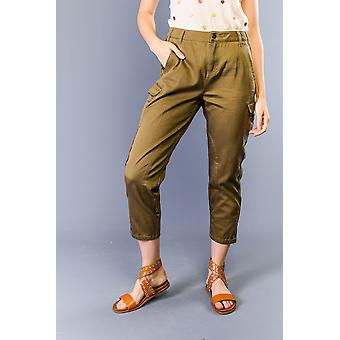 Twinset Women's Military Green Pants