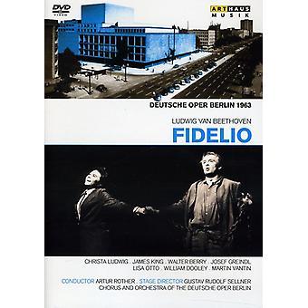 L.V. Beethoven - Fidelio [DVD] USA import