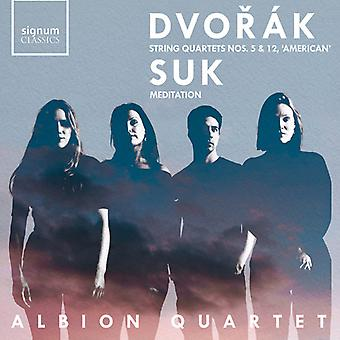 String Quartets 5 & 12 [CD] USA import