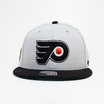 '47 Nhl Philadelphia Flyers Grey Snapback Cap