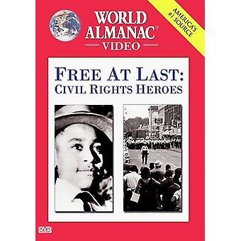 Gratis på sista-civila rättigheter hjältar [DVD] USA import