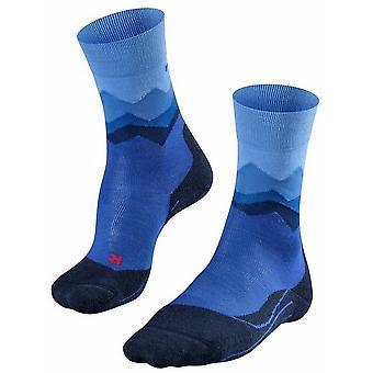 Falke Trekking 2 Crest Socks - Yve Blue