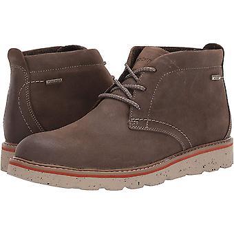 Rockport Men's Shoes Storn frente chukka Couro Fechado Dedo tornozelo de pé botas de moda